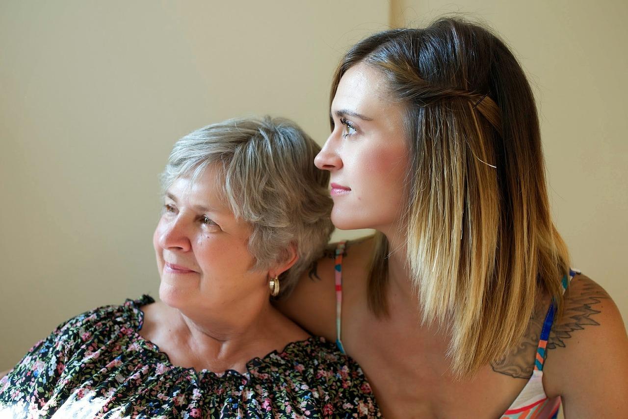 似たもの同士の母と娘